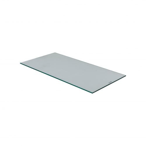 glasshylle med perforert glass