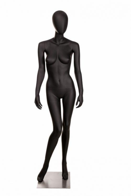 utstillingsdukke dame OLB1 i farge sort matt