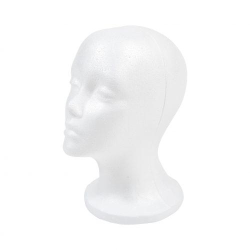 isoporhode dame hvit høyde 27cm